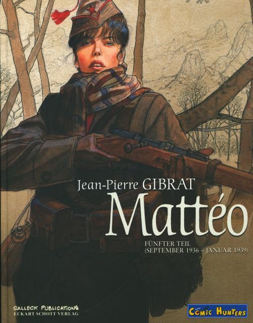 Jean-Pierre Gibrat und seine Werke begeistern mich sehr.