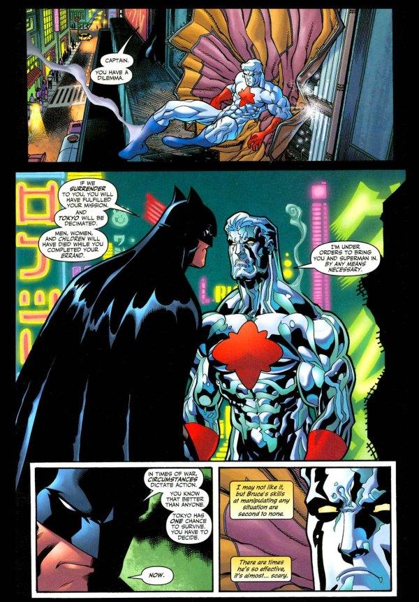 batman manipulates captain atom