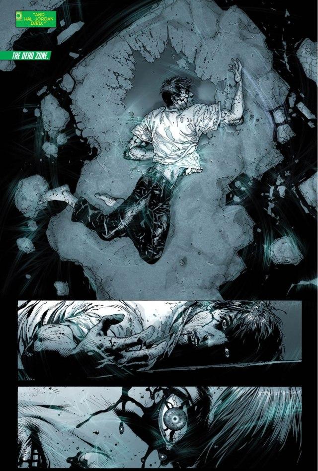 Hal Jordan As A Black Lantern