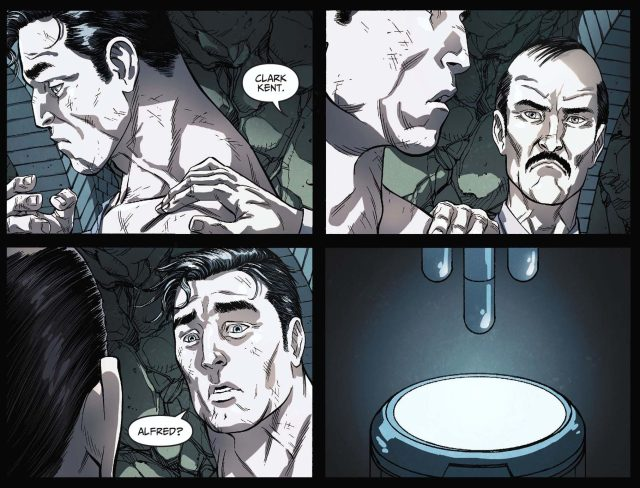 alfred pennyworth vs superman