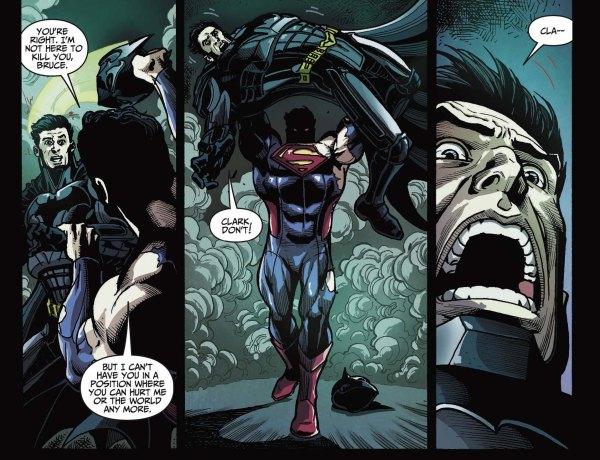 superman broke the bat