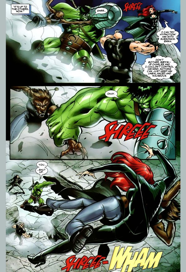 x-factor vs the hulk