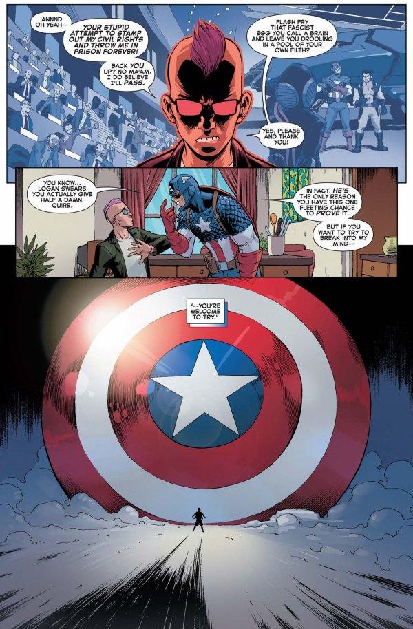 captain america's psychic defense