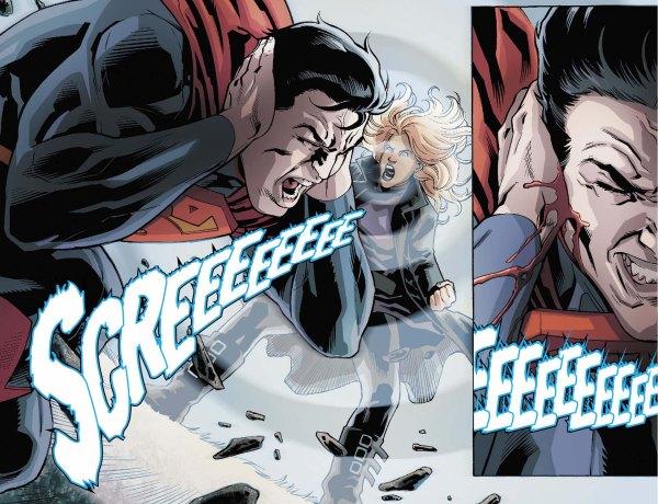 black canary attacks superman 2