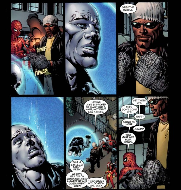 what luke cage did to electro 2