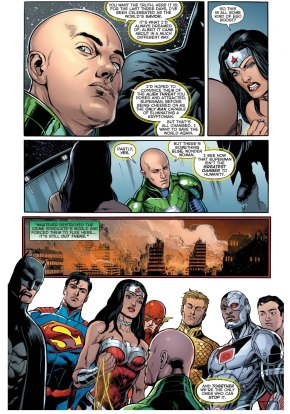 lex luthor applies for the justice league 2
