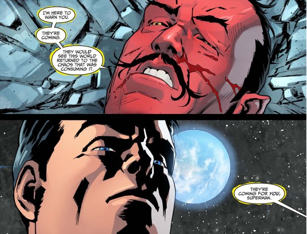 superman attacks sinestro 4