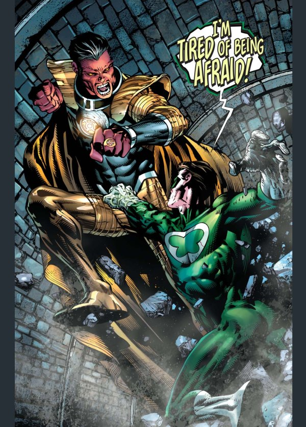 sinestro vs power ring