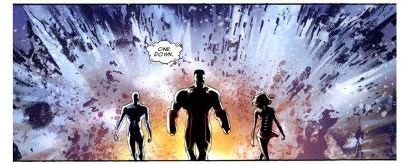 x-men takes down a predator x 4