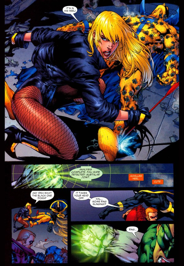 how brutal black canary can be 3