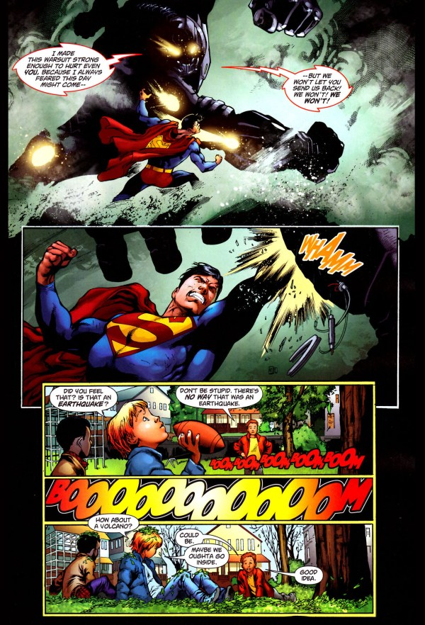 common mistake when fighting superman 2