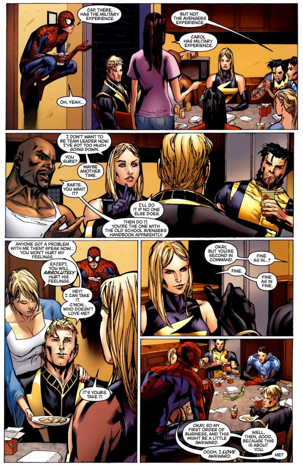 spider-man reveals his identity to the new avengers 2