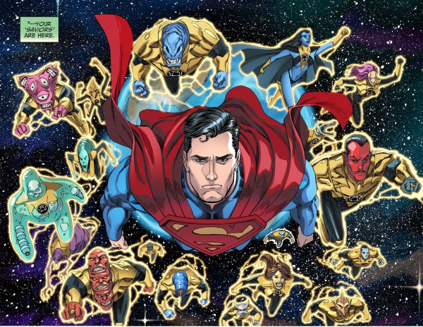superman and the sinestro corps