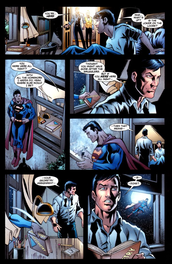 superman did robin's homework 2