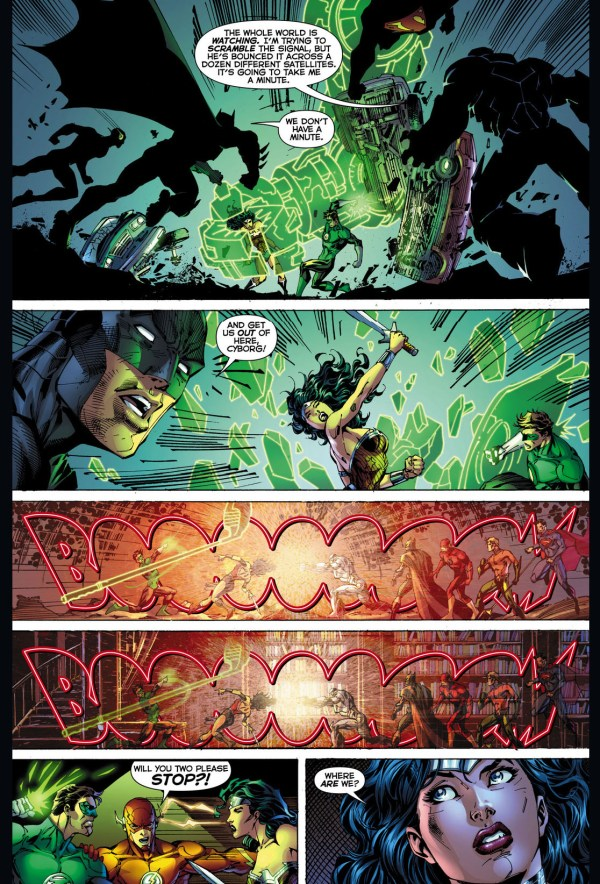 wonder woman vs green lantern 5