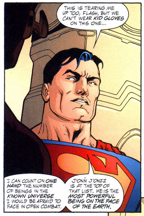 What Superman Thinks Of Martian Manhunter