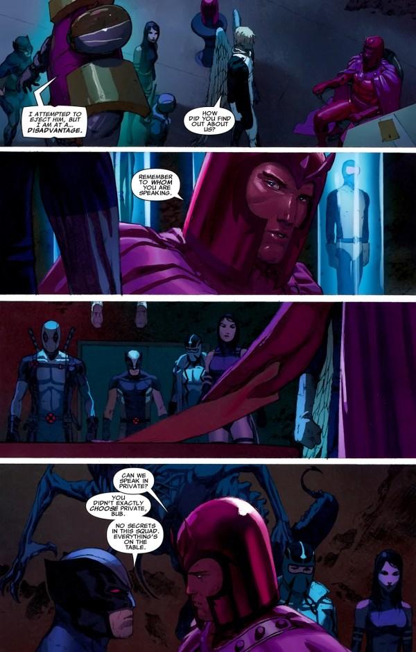 magneto asks x-force for a favor