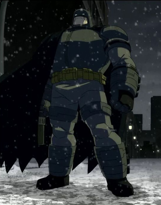 batman armor the dark knight returns