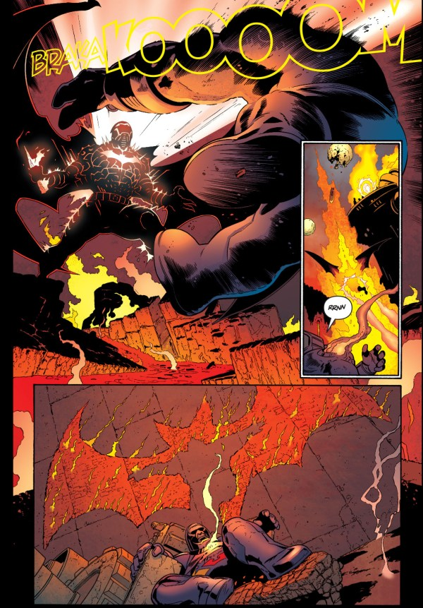 batman tricks darkseid into using the omega sanction
