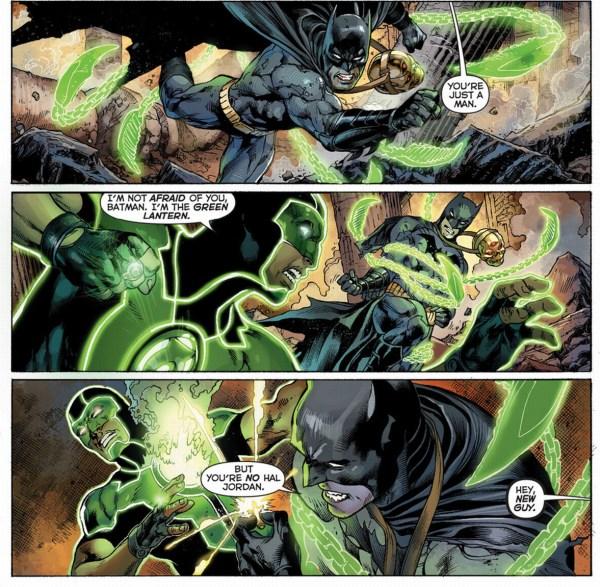 batman vs green lantern (simon baz)