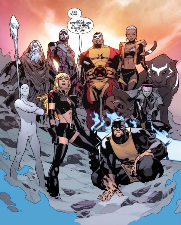 uncanny x-men meets the future x-men