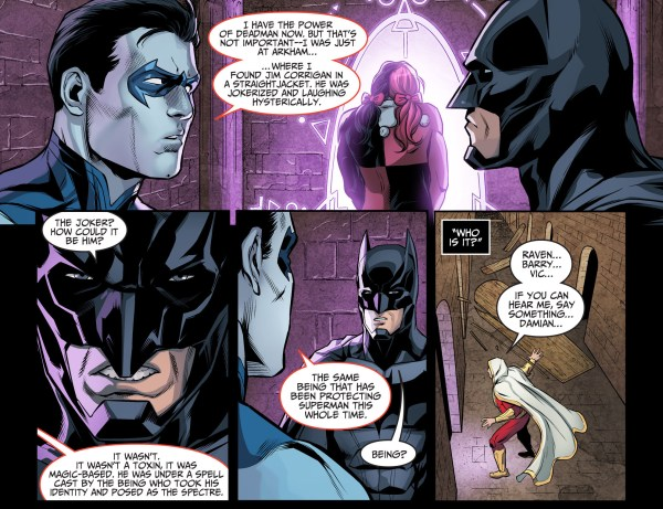 batman sees deadwing for the first time