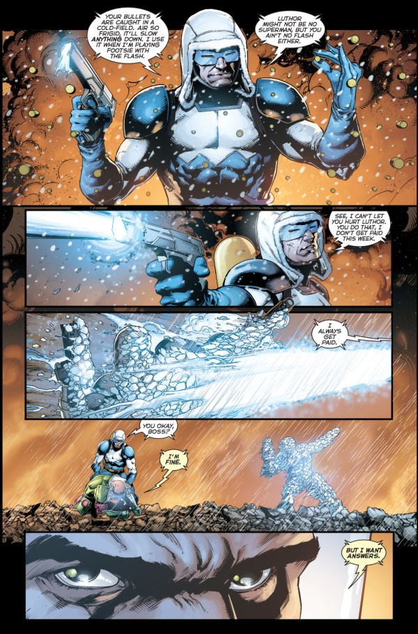 captain cold vs bullet