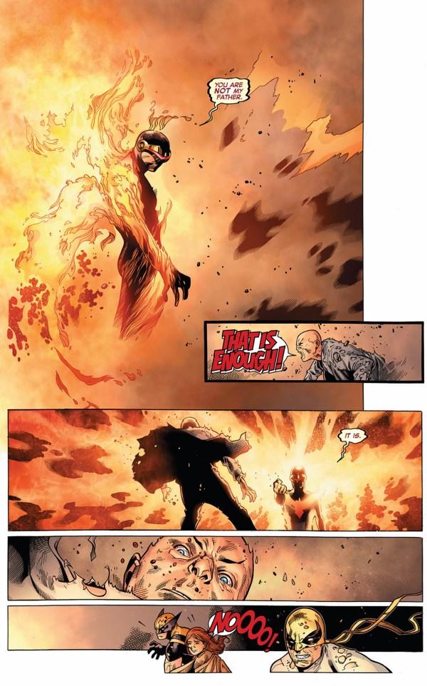 cyclops kills professor x
