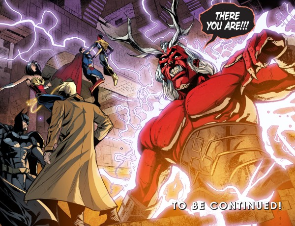 john constantine summons trigon