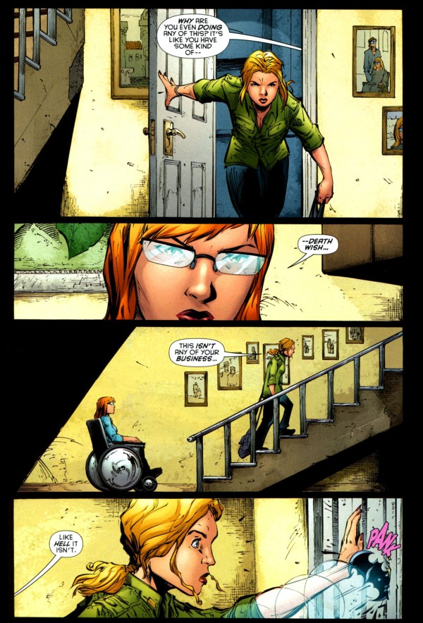 Oracle on why stephanie brown shouldn't be batgirl