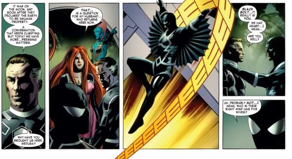 spider-man's opinion on polygamy