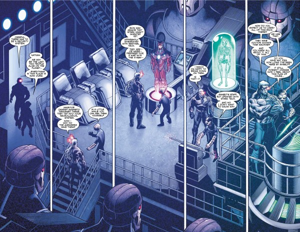the avengers prepared for war against the x-men