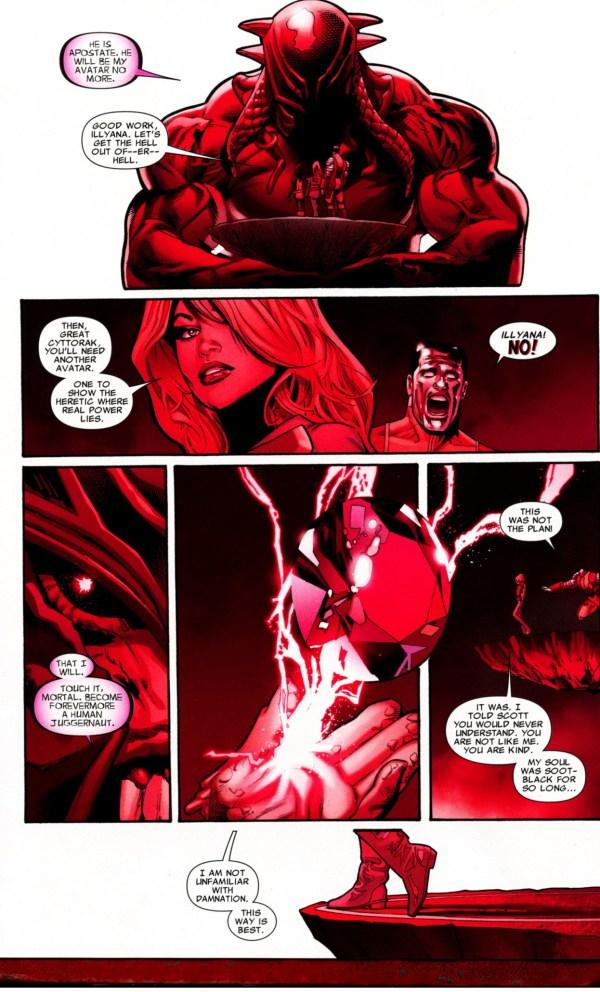 how colossus became the juggernaut