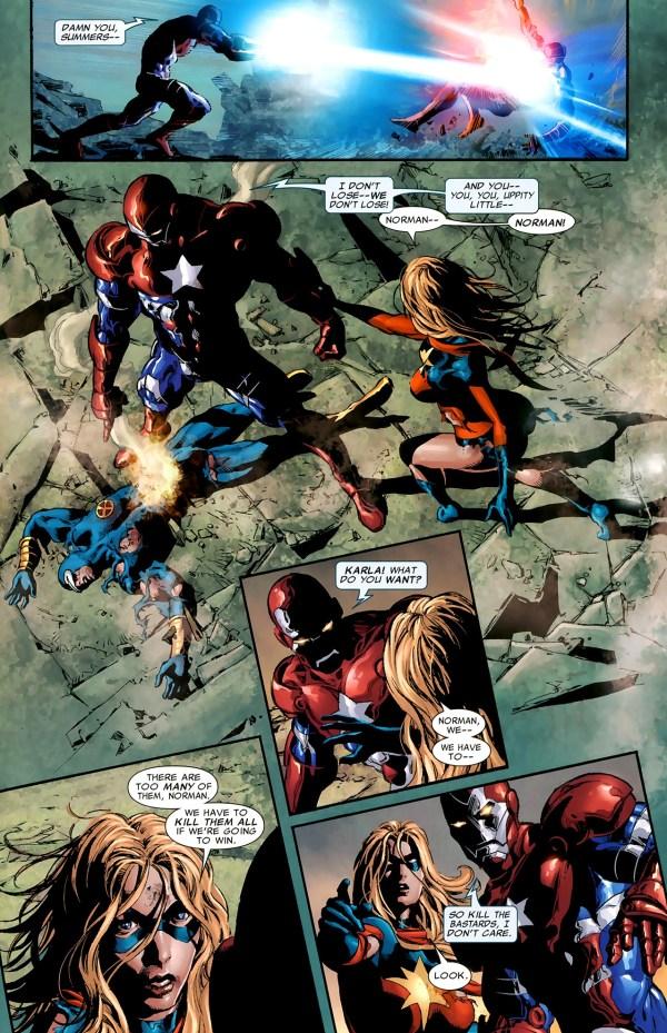 how cyclops beat norman osborn