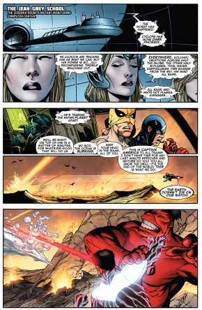 dark phoenix cyclops tears the world apart