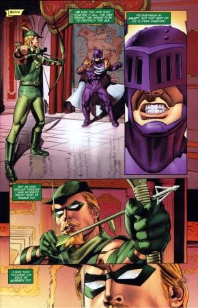 green arrow's reason for killing prometheus
