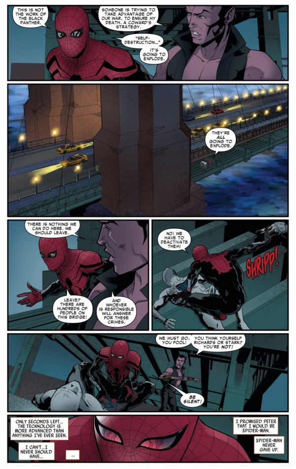 namor gives superior spider-man some advice