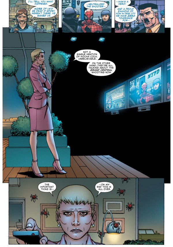 superior spider-man blackmails corporations