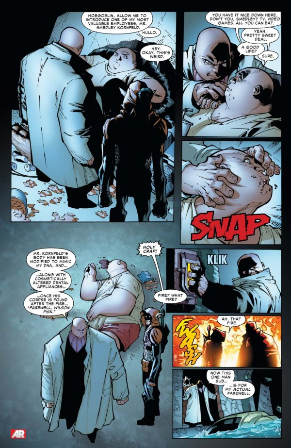 the kingpin's contingency plan