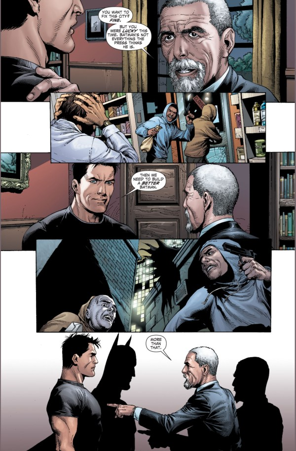 alfred pennyworth's advice for batman (earth 1)