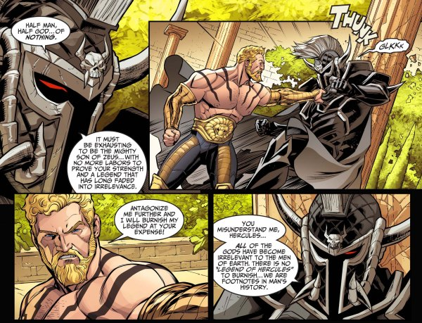 Ares mocks hercules