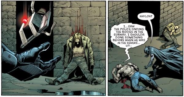 batman and killer croc vs the riddler (earth 1)
