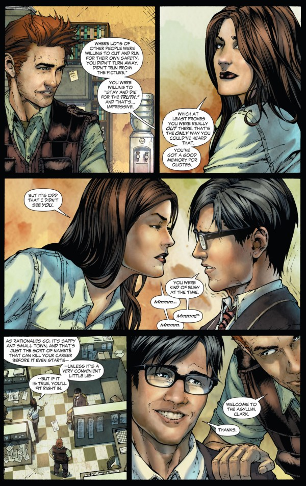 clark kent joins the daily planet (earth 1)