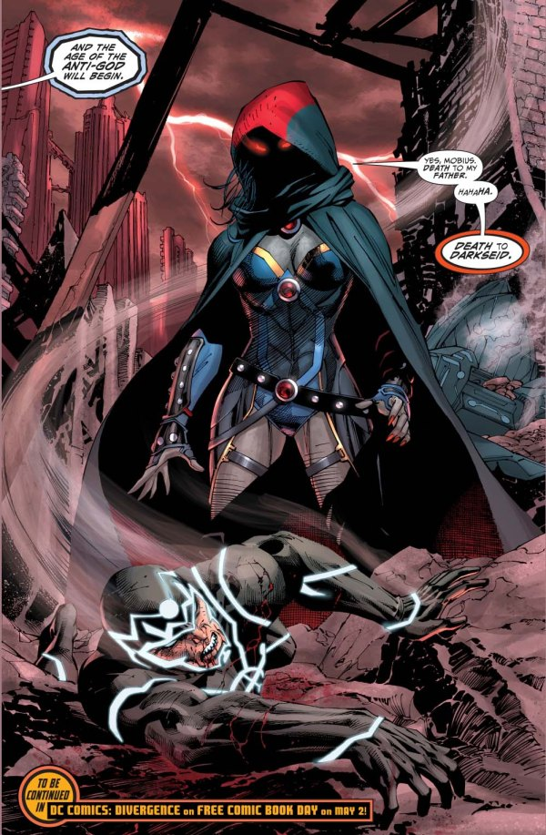 darkseid's daughter