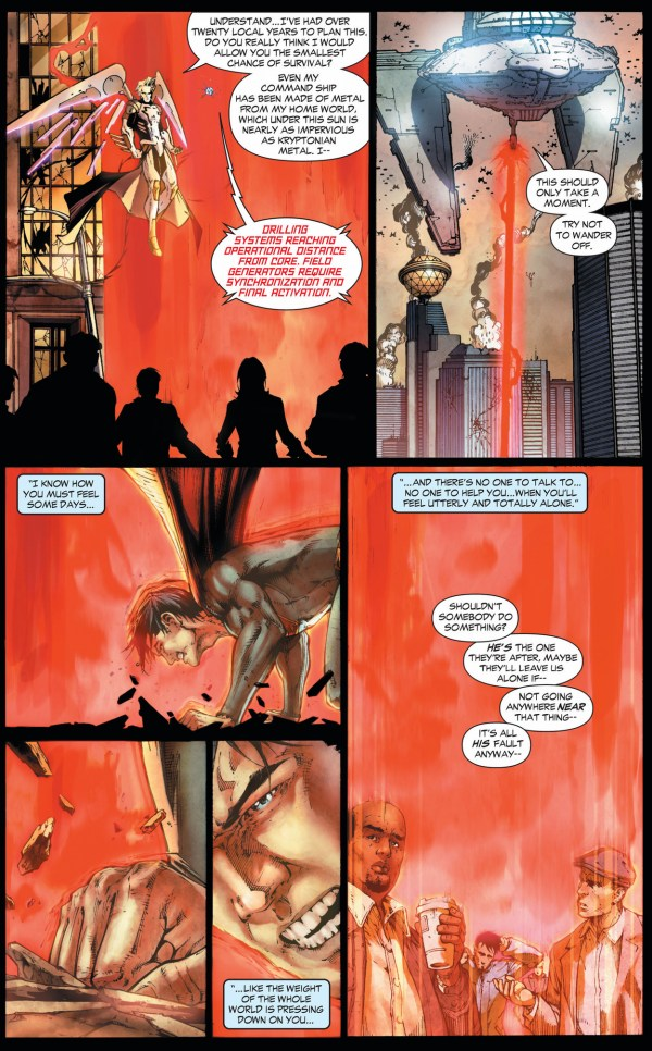 how tyrell trapped superman (earth 1)
