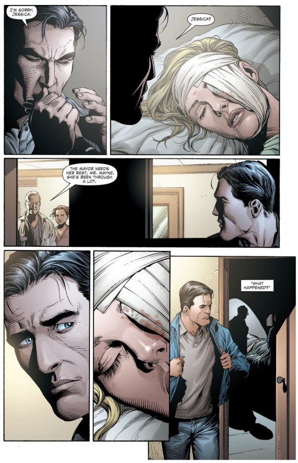 jessica dent becomes two face (earth 1)