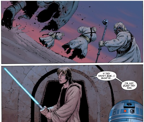 luke skywalker vs tusken raiders