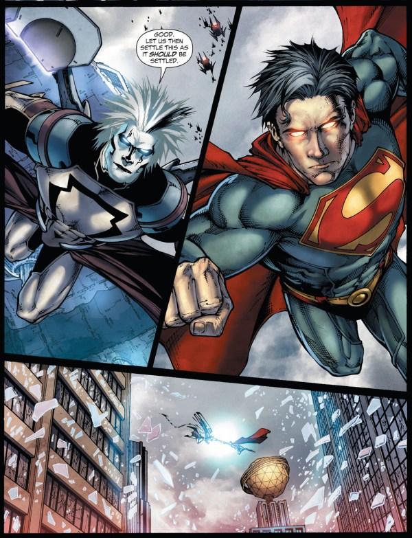 superman vs tyrell (earth 1)