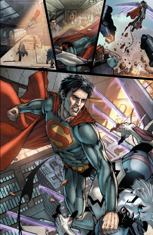 tyrell attacks superman (earth 1)