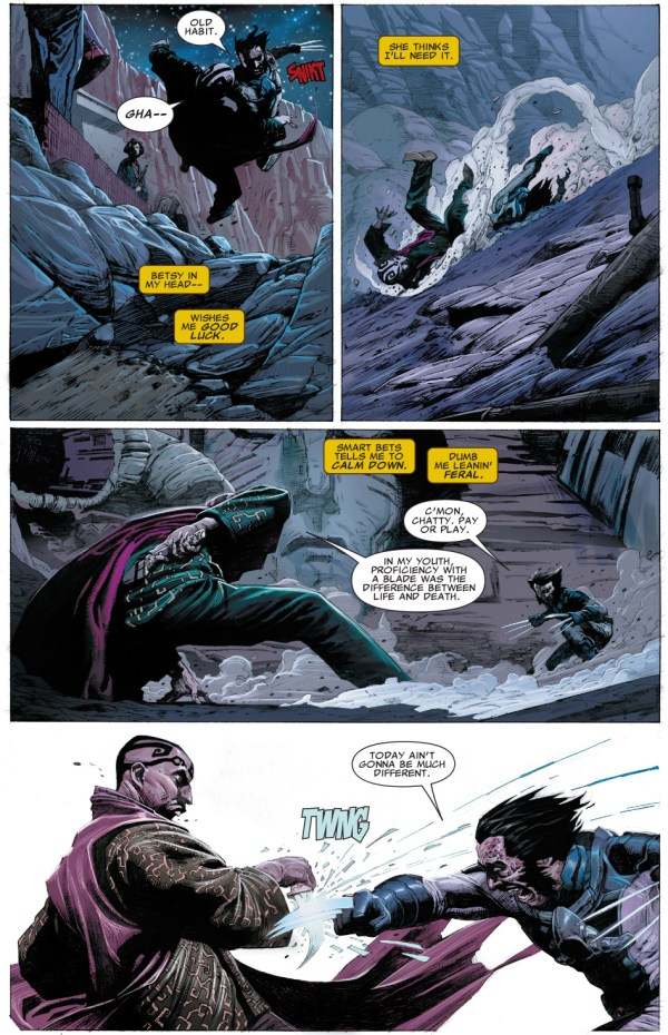 wolverine vs death